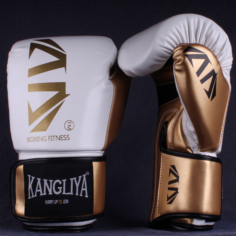 6 8 10 12 Oz Guantes De Kick Boxing para adultos niños Sanda/combate/Lucha/Muay Thai Guantes hombres mujeres Guantes De Boxeo Boxe equipo