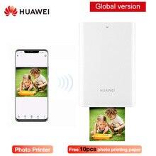 Original Huawei CV80 Mini DIY Photo Printers For Phone Smart Bluetooth 4.1 300dpi HD Picture Pocket  AR Portable Photo Printer