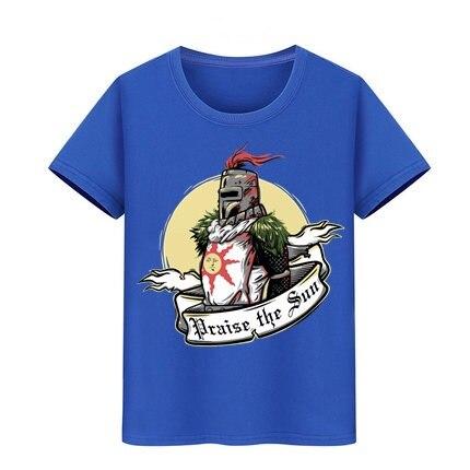 Camiseta para niño y niña, blusa para adolescentes, camisetas de hip hop, ropa para niños, camisetas para niños Dark Souls II 2 Arteries Praise The Sun, camiseta para chico