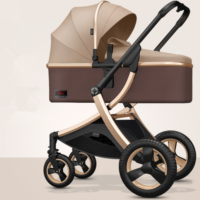 8.9Kg Adjustable Luxury Baby Stroller 3 in 1 Portable High Landscape Luxury Stroller Hot Mom Pink Stroller Travel Pram Pushchair enlarge