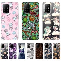 silicon case for oppo a94 5g cartoon luxury flexible cover on oppo a94 5g shell cover ultra thin non slip shockproof personality