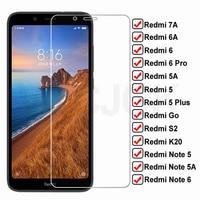Защитное стекло для Xiaomi Redmi 7A, 6A, 5A, Go, S2, K20, 5 Plus, Note 5, 5A, 6 Pro