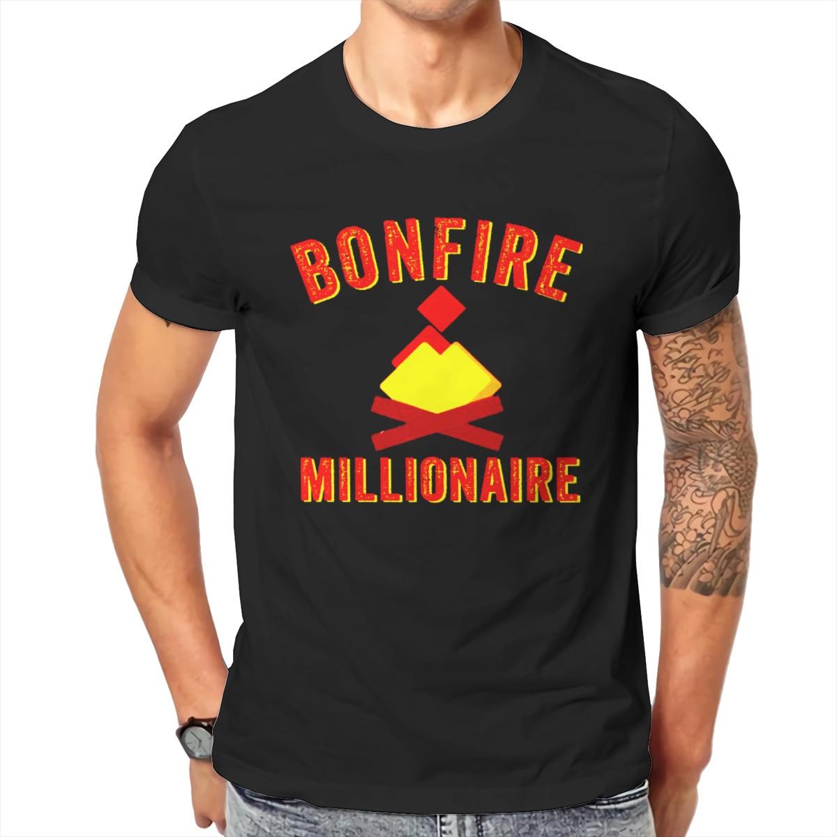 Men Bonfire Token - Bonfire Crypto, Bonfire Coin Bonfire Investor Altcoins Graphic Funny T-shirts