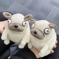 13cm pig the elf fat pug plush toys kawaii sitting pug dogs toy stuffed dolls for kids children birthday gift dolls