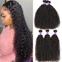 recifeya raw mongolian kinky curly hair bundles 100 human virgin hair weaving wholesale hair bundles extensions for black woman