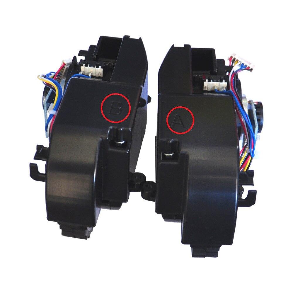 الأصلي الجديد جهاز آلي لتنظيف الأتربة اليمين اليسار عجلة ل Proscenic P1 P1S P2 الروبوتية مكنسة كهربائية أجزاء عجلة الملحقات