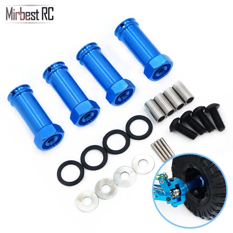 Mirbest RC DIY Parts For Wltoys 12428 Parts 12423 FY-03 JJRC Q39 RC Car Parts Metal Extension bonder Adapter Upgrade accessories enlarge
