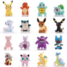 41 Styles Pokemoned Plush Doll Pikachued Stuffed Toy Bulbasaur Squirtle Charmander Eevee Jigglypuff