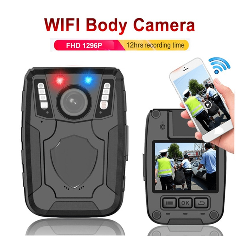 1296p المهنية عن بعد واي فاي AP 34MP سيارة كاميرا لاسلكية صغيرة كاميرا DVR مسجل صوتي الشرطة DV الأمن كليب الجسم يرتديها