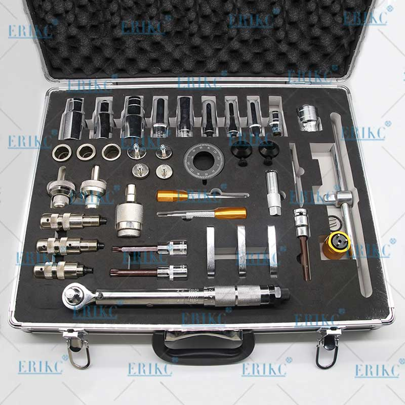 ERIKC Diesel Injector Nozzle Dismounting Repair Tools  Common Rail Injector  Disassemble Tools