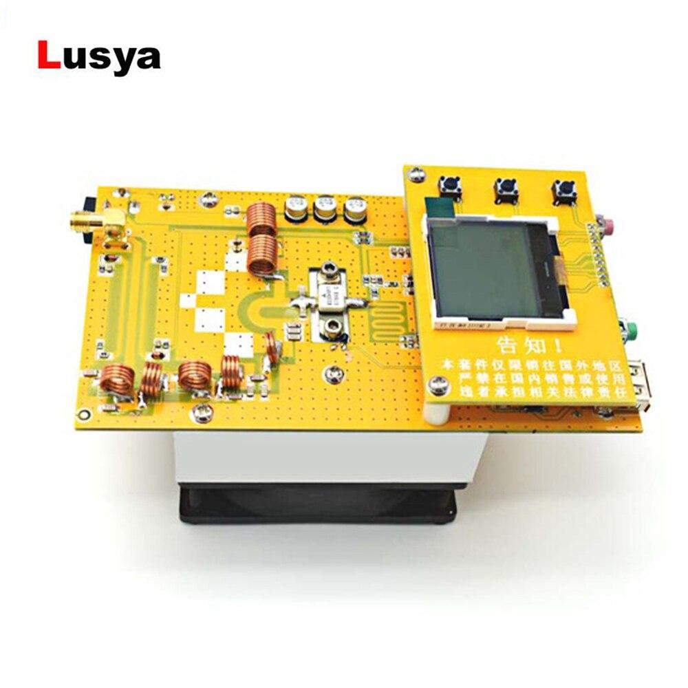 12V LED الرقمية راديو محمول FM محطة الألومنيوم 30W PLL ستيريو FM جهاز إرسال لاسلكي 76 M-108 MHz مع غرفة التبريد مروحة D4-005
