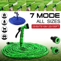 expandable flexible garden hose car washing gardening hose with 7 function nozzle 25ft50ft75ft100ft125ft150ft175ft