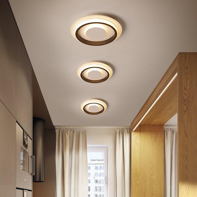 Новинка светодиодный Потолочные светильники для спальни, кухни, коридора, комнатное освещение, круглые квадратные светильники, люстры Dero