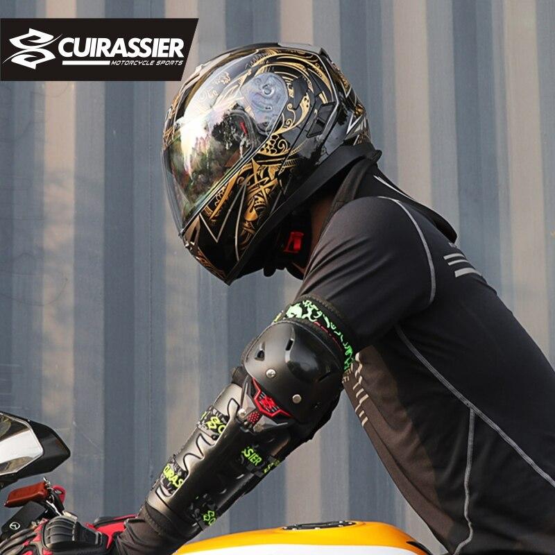 Motorcycle Protective kneepad Knee Pads Elbow Protector Off-Road Brace Racing Motorbike Protection Guards Motocross Cuirassier enlarge