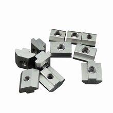 2020 3030 4040 алюминиевый профиль крепежные гайки TBlock квадратные болты гайка мебельные Винты M3 M4 M5 M6 M8 слот раздвижной молоток гайка
