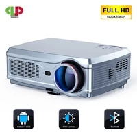 Puissant projecteur Full HD 1920x1080P  Android 7 1  2 go   16 go  Wifi  Bluetooth  AC3  compatible 4K  Home cinema