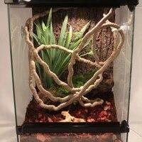 21m terrarium reptile vines flexible bendable jungle climber vines habitat decor reptile pet terrarium decoration