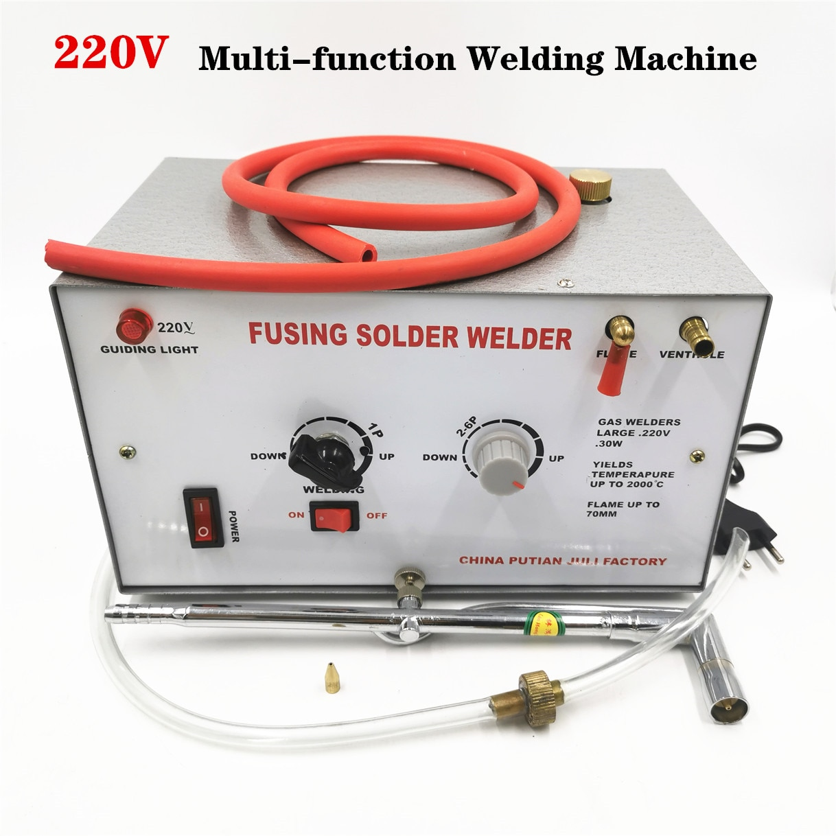 30W 220V Welding  Melting Machine Gold Silver Welding Melting / Soldering Maximum Temperature Up To 2000 Jewelry Welding Tools
