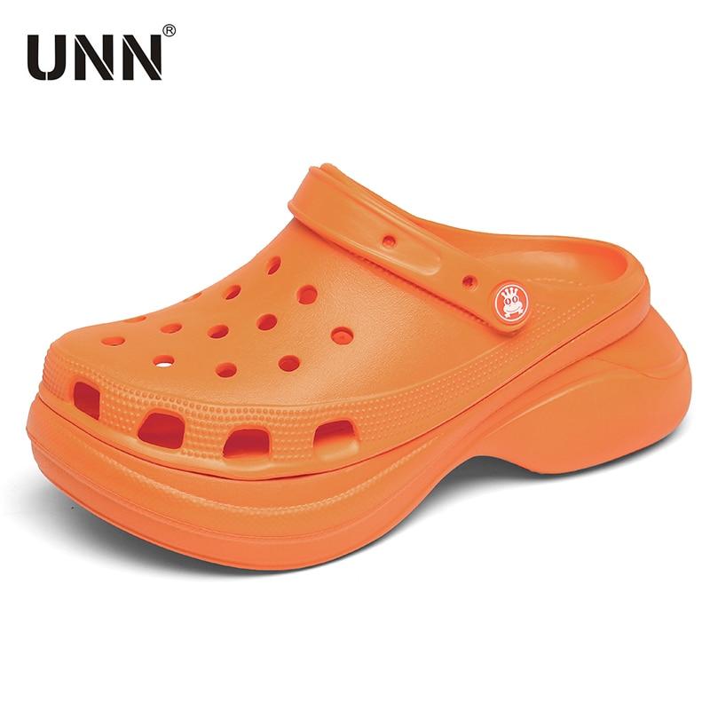 AliExpress - Clog Women's Shoes Sandals 2020 Platform Sandals Croc Garden Beach Slippers Slip On For Girl Beach Shoes Fashion Slides Outdoor