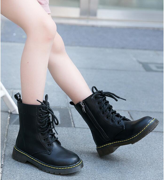أحذية مارتن شتوية للأطفال ، أحذية بنات بنمط جديد ، أحذية شتوية قصيرة للأولاد ، شحن مجاني