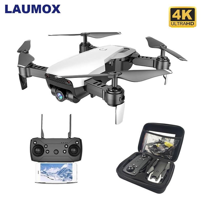 LAUMOX M69G FPV RC Drone 4K Камера Оптический Поток Selfie Dron Складной Wi-Fi Quadcopter Вертолет VS VISUO XS816 SG106 SG700 X12