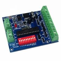8ch dmx512 decoder 8 channel rgbw led controller dc5v 24v 8ch3a 24a max dmx decoder dimmer cmos drain open output