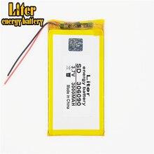3.7V 3000mAh 306090 Lithium polymère li-po Li ion batteries rechargeables pour Mp3 MP4 MP5 GPS mobile bluetooth