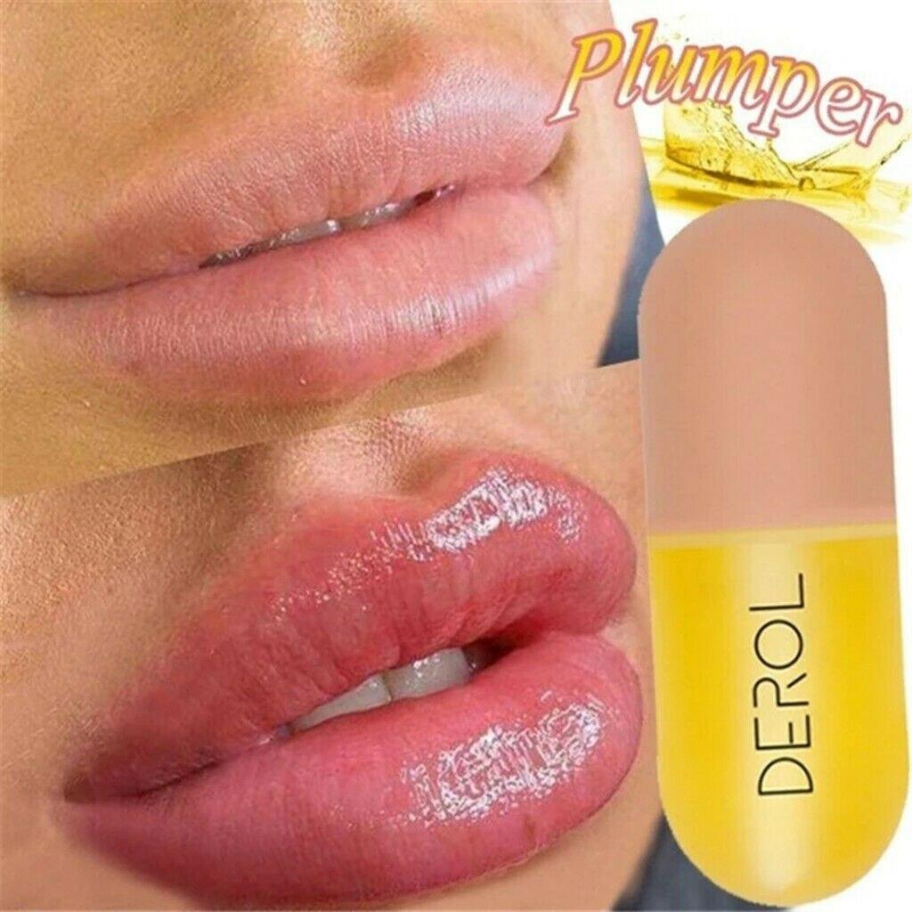 AliExpress - 5ml Instant Volumising Lips Plumper Gloss Reduce Fine Lines Serum Oil Mask Moisturizer Makeup Care Lip Sexy Plump Essence