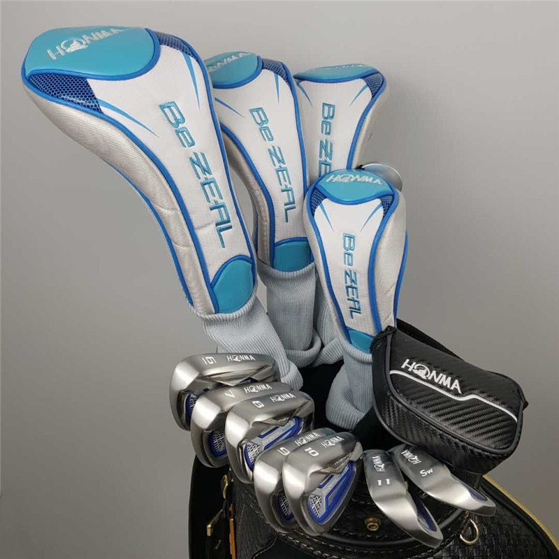 Brand New Women's HONMA Golf Club HONMA BEZEAL 525 Golf Complete Set Graphite Shaft L Flex with Wood Putter Head Cover (No Bag)