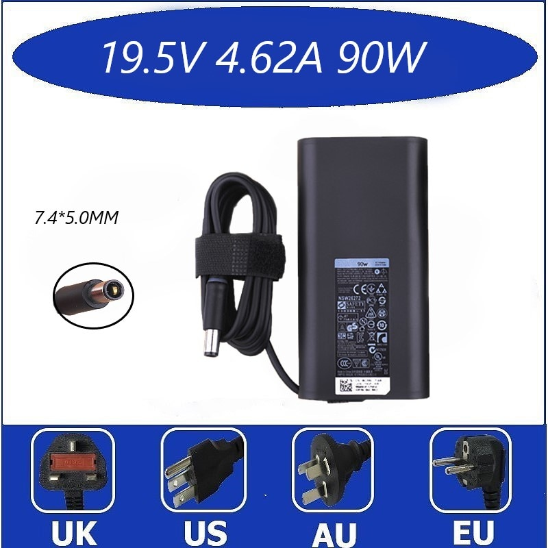 19.5V 4.62A AC Charger Power Supply Compatible with Dell Latitude 6220 E6220 Laptop Adapter Cord power supply halogen free european 65w ac adapter with european power cord kit