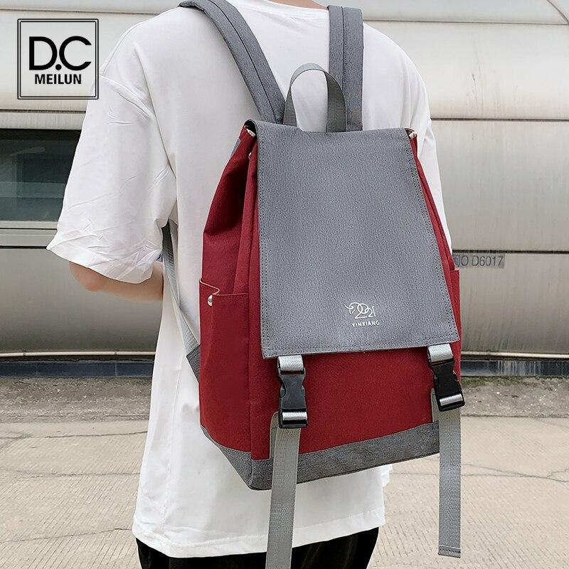 Нейлоновый женский рюкзак DC.meilun для девочек, школьная сумка, стильный рюкзак высокого качества, Женский дорожный рюкзак, женский рюкзак
