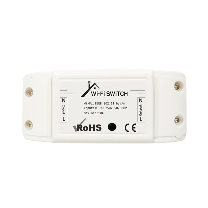 ac90 module 220v ewelink wifi interruptor modulo 2200w 10a wifi diy inteligente sem