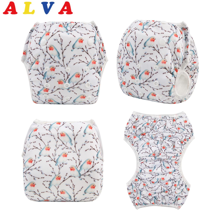 ¡Nueva llegada! Alvababy pañal de natación reutilizable ajustable para la clase de Swmming y la ducha del bebé