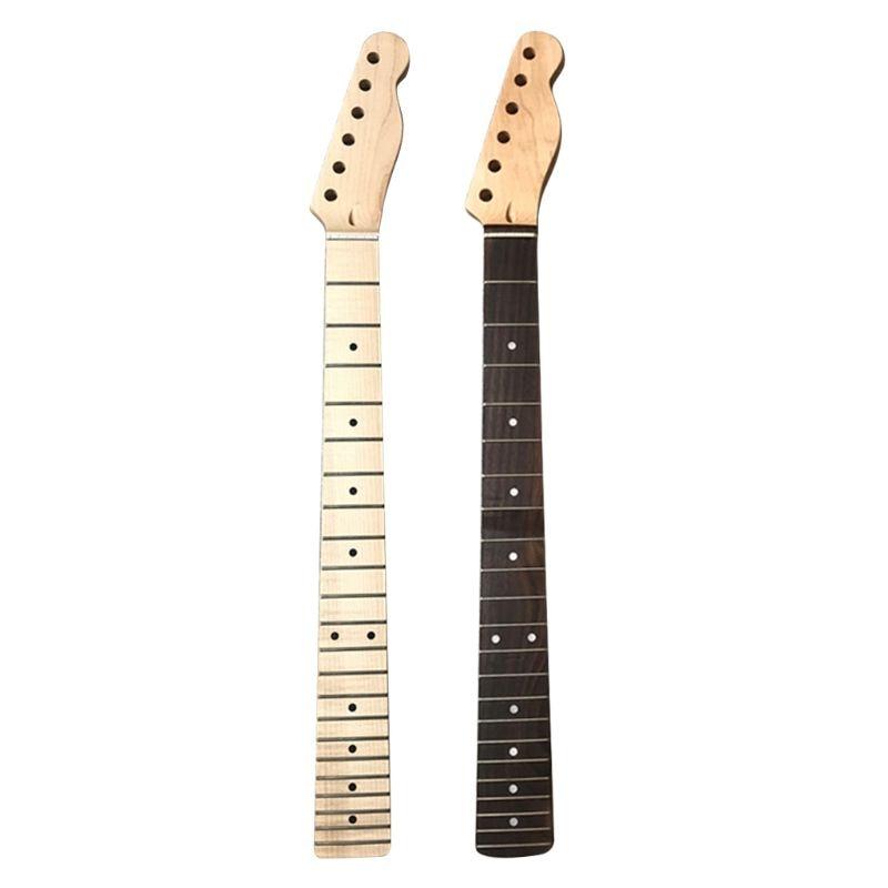 TL manche de manche de guitare électrique, 22 frettes, manche en bois de rose dérable pour Instruments de musique, Kits daccessoires Luthier