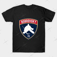 Sergei Bobrovsky T shirt Panthers tee sports stanley cup hockey life national hockey league chel bardown jersey retro