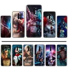 DC Harley Quinn joker Cover Black Soft Shell Phone Case For Xiaomi Redmi 4x 5 plus 6A 7 7A 8 mi8 8lite 9 note 4 5 7 8 pro