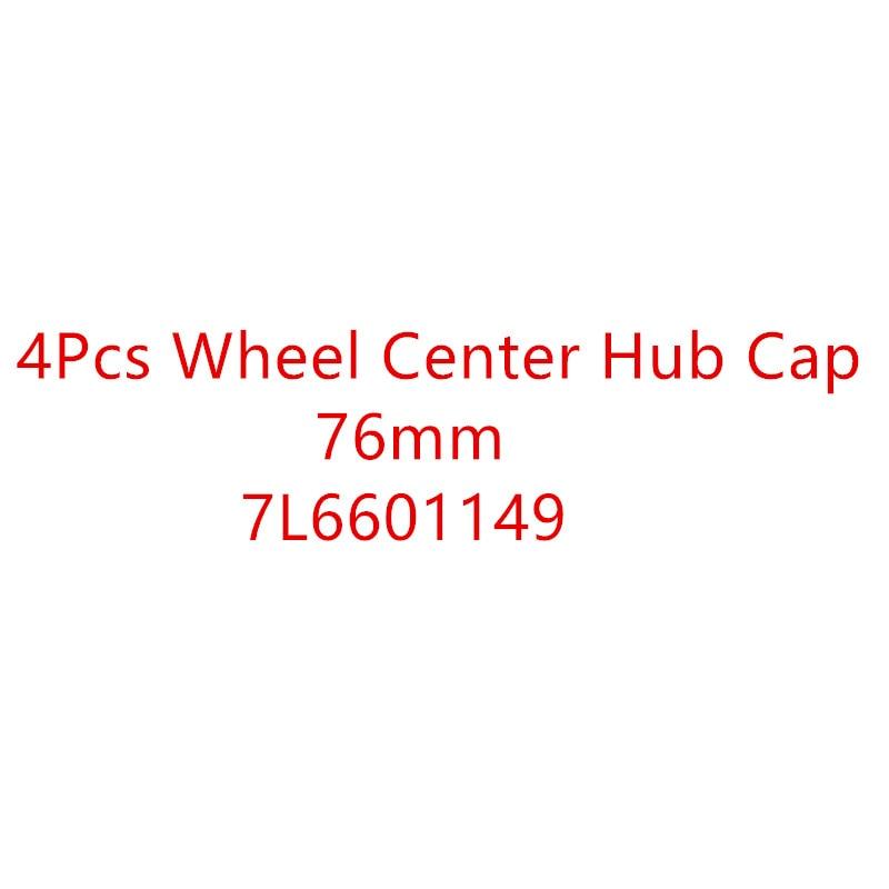 Новые 4 шт OEM колеса центр Крышка эмблема логотип 7L6601149 76 мм для 2004-2010 VW Touareg 2006-2017 Crafter