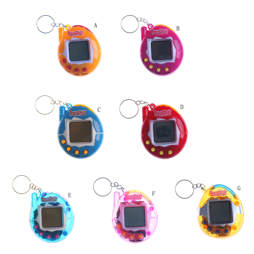 Tamagotchi Gift Keyring Pets Toys Gift Christmas Funny 90S Nostalgic 49 Pets In One Virtual Cyber Pe