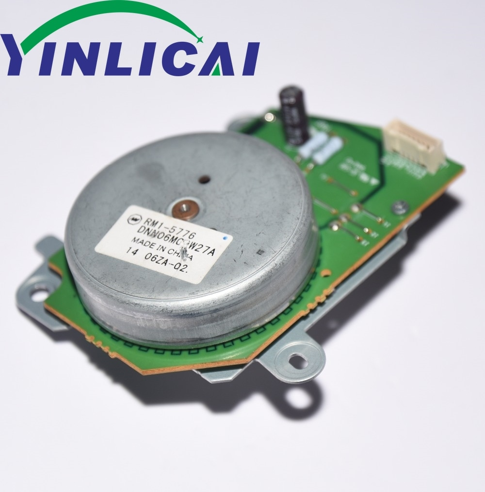 1 قطعة تستخدم RM1-5776 RM1-5776-000 RM1-5776-000CN ل HP CLJ CP4025 CP4525 CM4540 M651 M680 سلسلة الرئيسي موتور تيار مباشر آسى