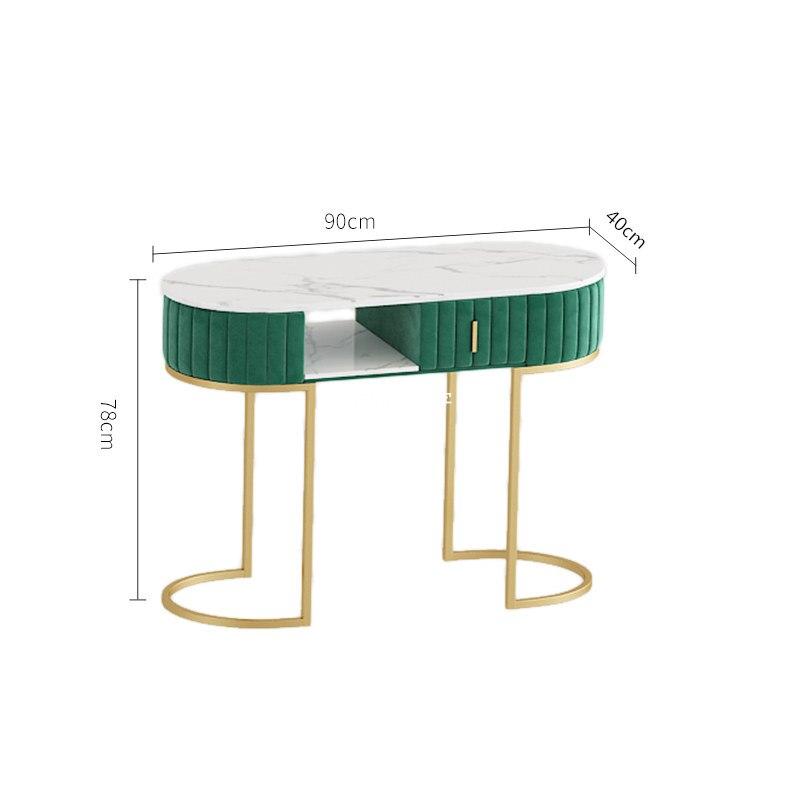 Скандинавские маникюрные столы, профессиональные простые мраморные столы для ногтей, кованые, Пномпень, фланелевые окантовки, Настраиваем...