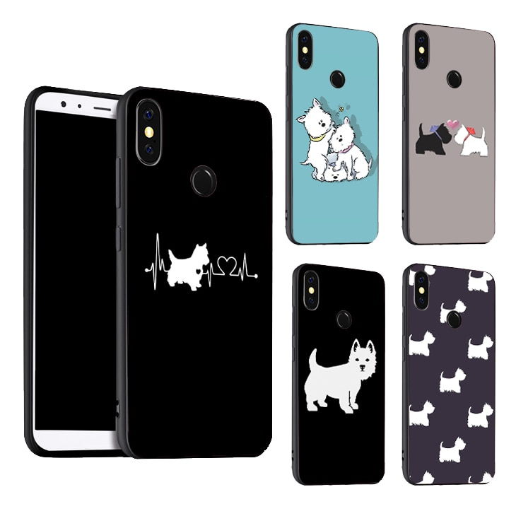 West Highland Terrier de Westie, funda para Xiaomi Mi 9 SE 9T10 Pro A3 Note10 Max3 Redmi Note 8 9 Pro 7 T 8 S K30 7A 8A