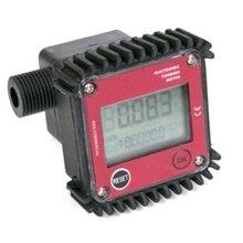 HHO-K24 Small Flow Gear Flowmeter 4 Points 19mm External Thread Fuel Water Urea Liquid Meter Flow Meter