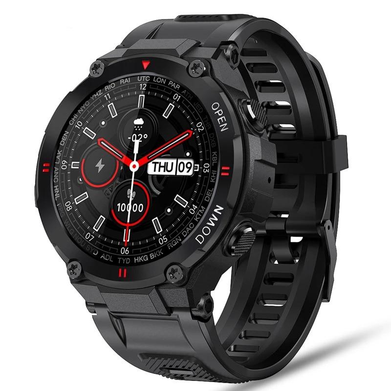 K22 Smart Watch Men Sport Fitness Make/Answer Call Multifunction Music Control Alarm Clock Reminder