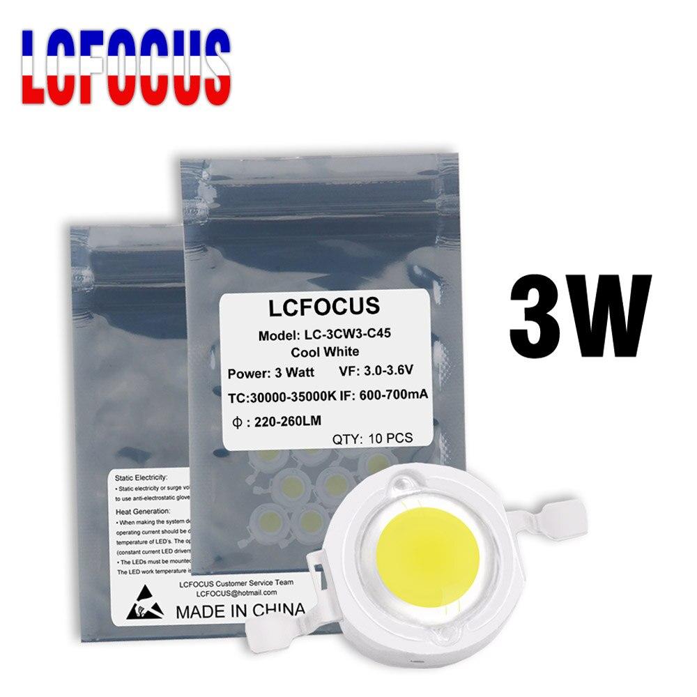High Power LED Chip 3W Warme Natürliche Reines Kühles Weiß 3000K 4000K 6000K 10000K 20000K 30000K COB SMD Für 1 3 5 Watt Licht Perlen