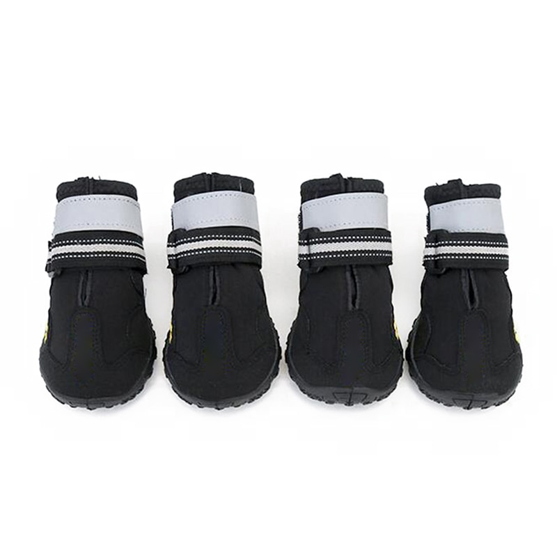 Esportes de Montanha à Prova Botas de Cachorro Sapatos para Quatro Dwaterproof Água Reflexiva Anti-deslizamento Malha Sapatos Respirável Caminhadas Estações P7ding
