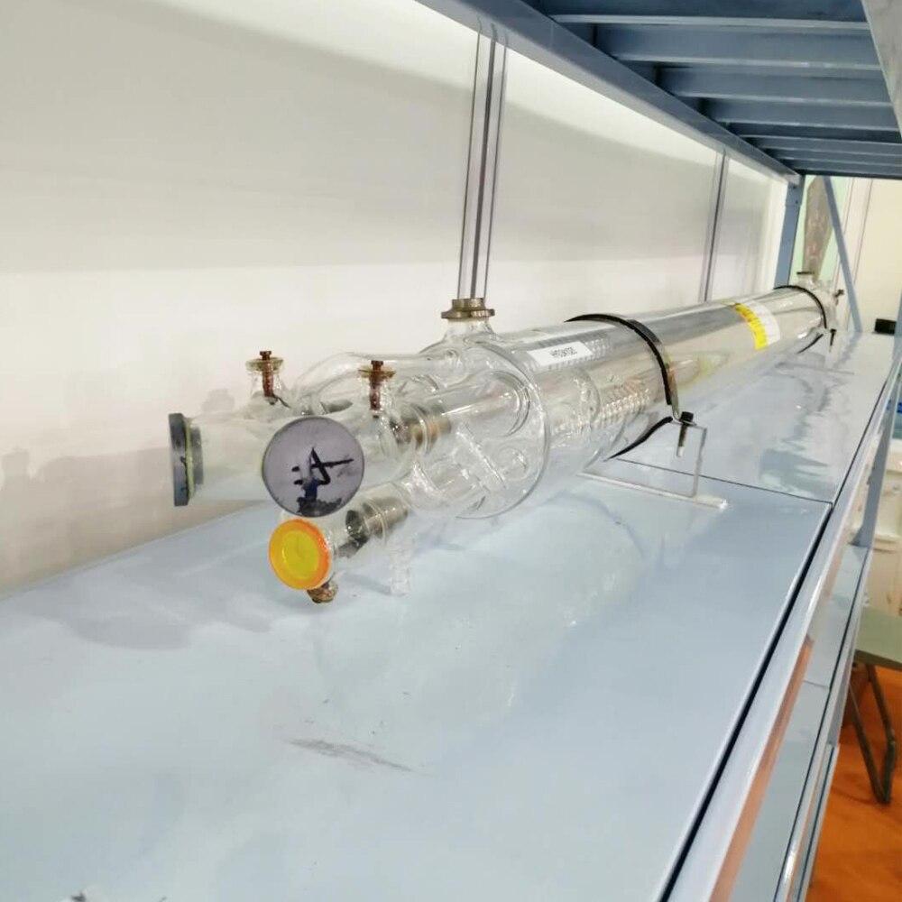 CO2 láser de potencia de 400W morir placa de madera máquina de corte por láser de tubo de vidrio