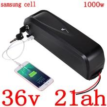 36V 500W 1000W batterie 36V 12ah 15ah 18ah 21ah batterie de vélo électrique 36V batterie au lithium utilisation samsung cellule avec 42V 2A chargeur