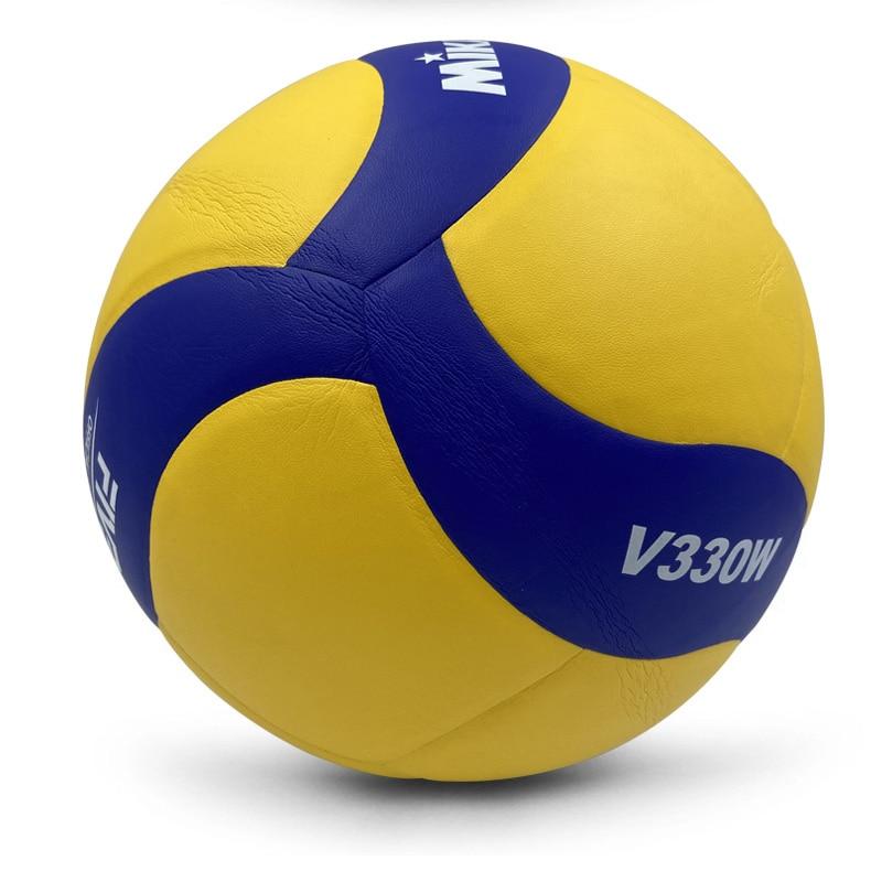 Волейбольные Мячи Размер 5 PU Мягкий касаться волейбол официальный матч V200W/V330W внутренний игровой мяч тренировочный мяч водонепроницаемый