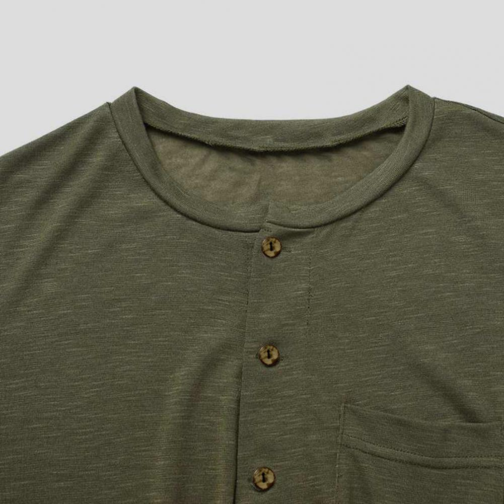 Мужчины длинный рукав однотонный цвет комбинезон однобортный комбинезон пижамы ночное белье