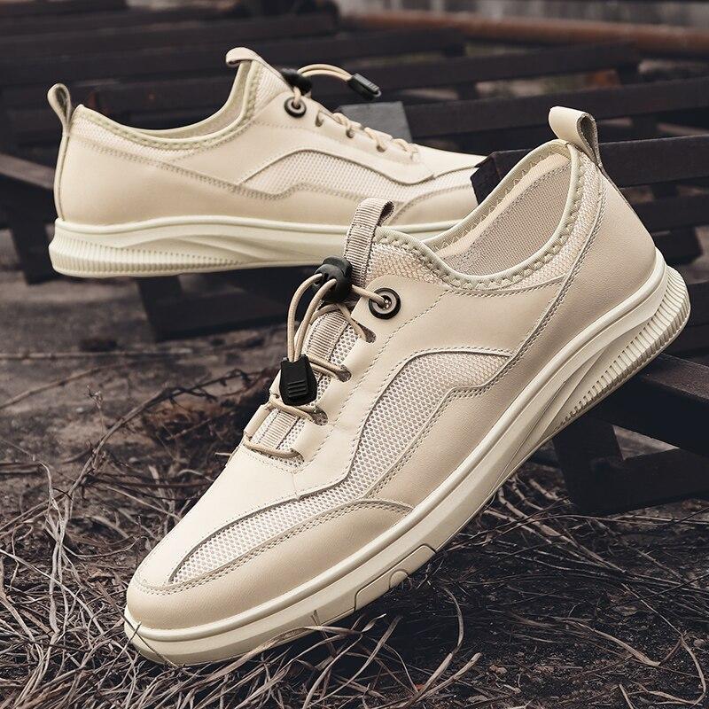 ساباتو Masculino الصيف عادي حذاء كاجوال حذاء رياضة حذاء رجالي السببية رياضية الرجال الأبيض ل Zapatos دي Hombre